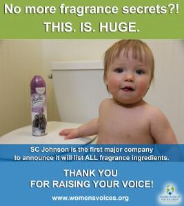SC Johnson victory