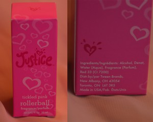 Justice Perfume
